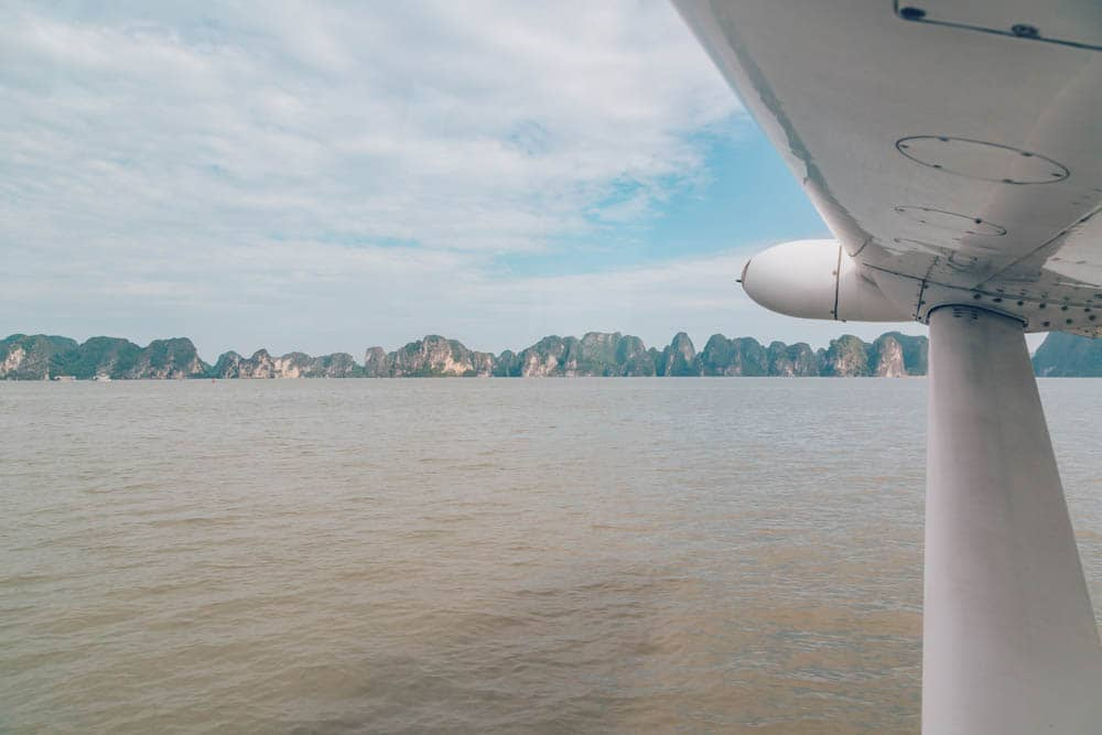 Seaplane, Halong Bay, Vietnam