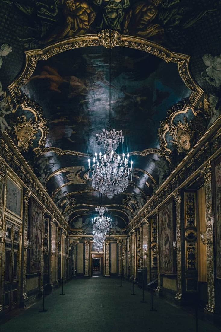 Karl XI Gallery, State Apartments, Stockholm Castle, Sweden