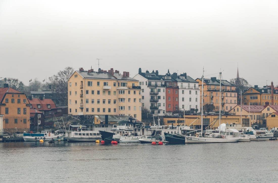 Stockholm Boat Ride, Sweden