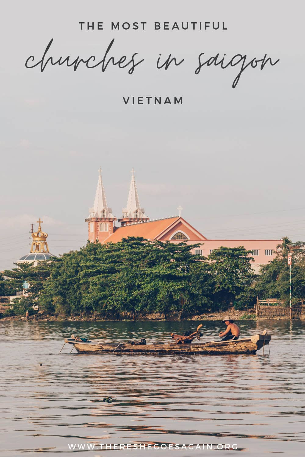 The most beautiful churches in Saigon to visit! | saigon vietnam, ho chi minh city vietnam, things to do in ho chi minh city