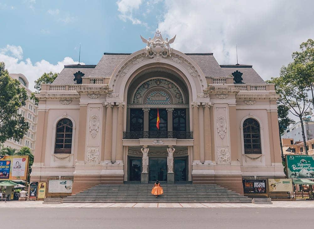 Opera House in HCMC, Vietnam