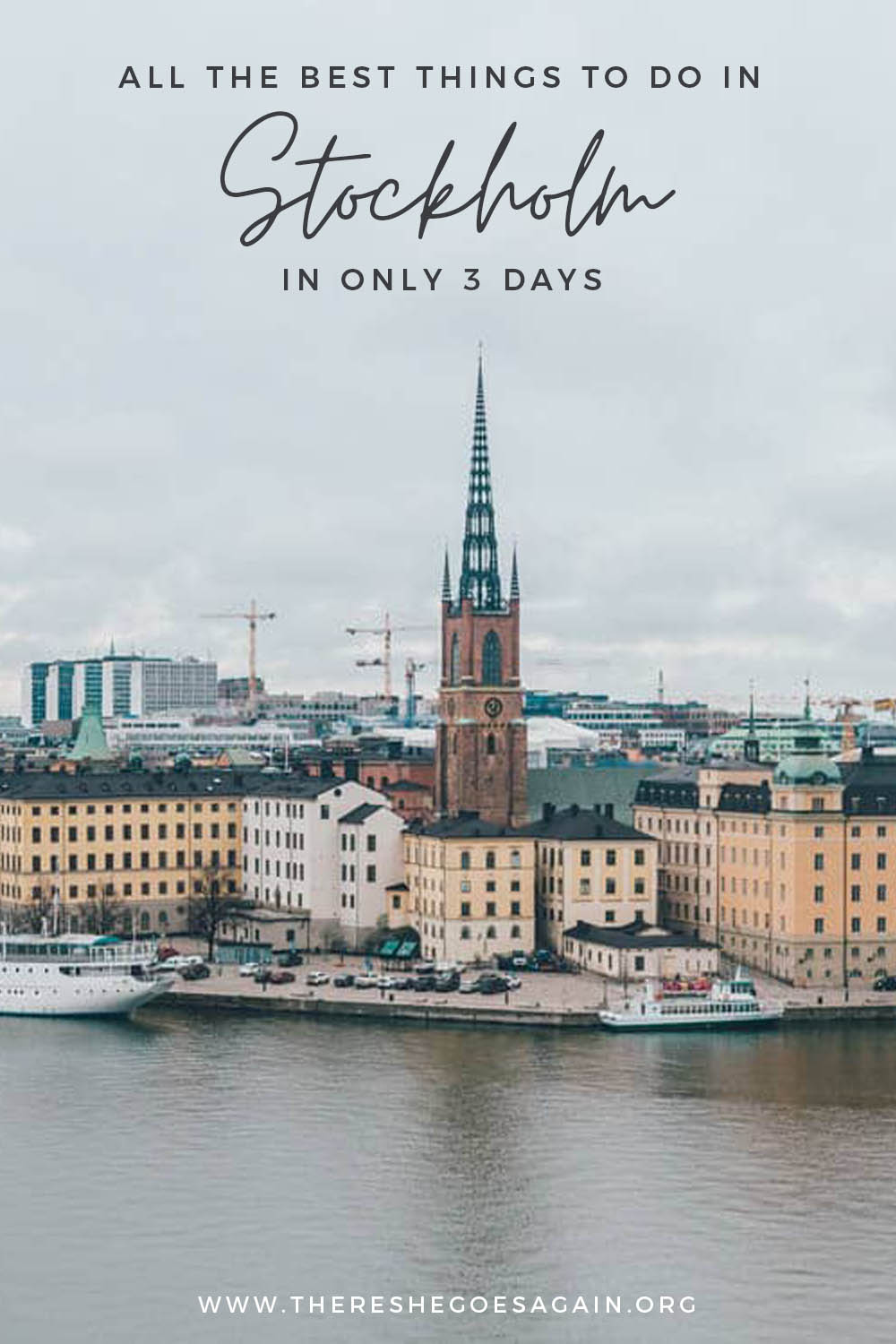 Best things to do in Stockholm in 3 Days | stockholm travel, sweden travel