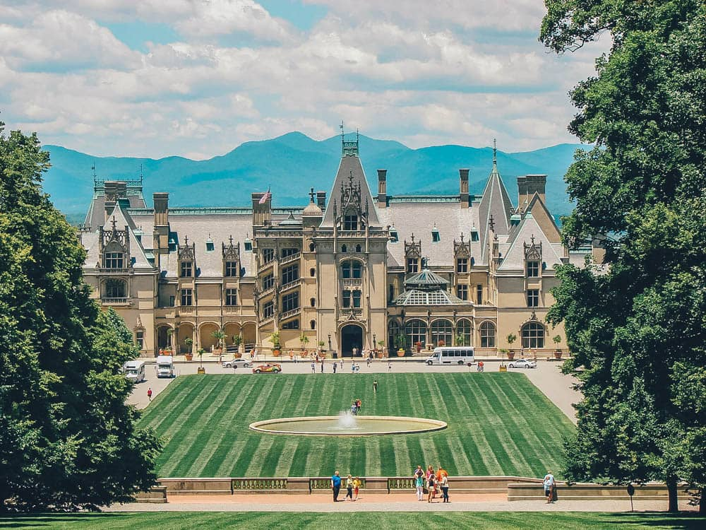 Biltmore Estate, Castles in the US