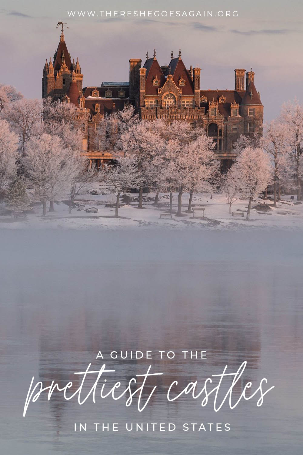 A guide to the coolest castles in the United States! | usa bucket list, usa places to visit