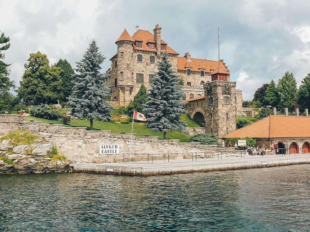 Singer Castle, Castles in the US
