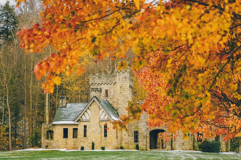 Squire Castle, Castles in the US