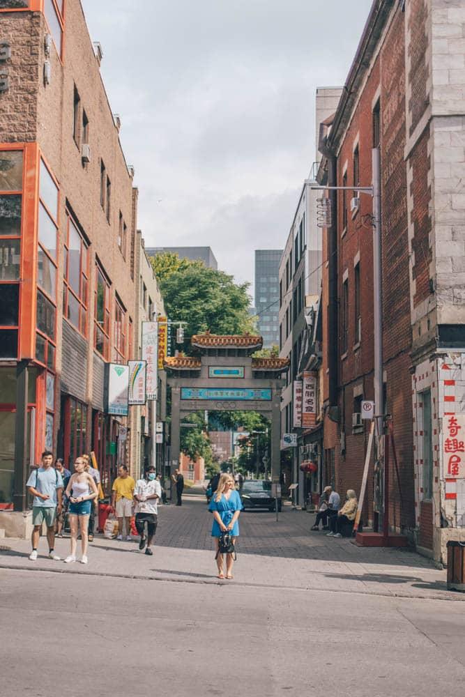 Chinatown, Montreal, Qubec, Canada