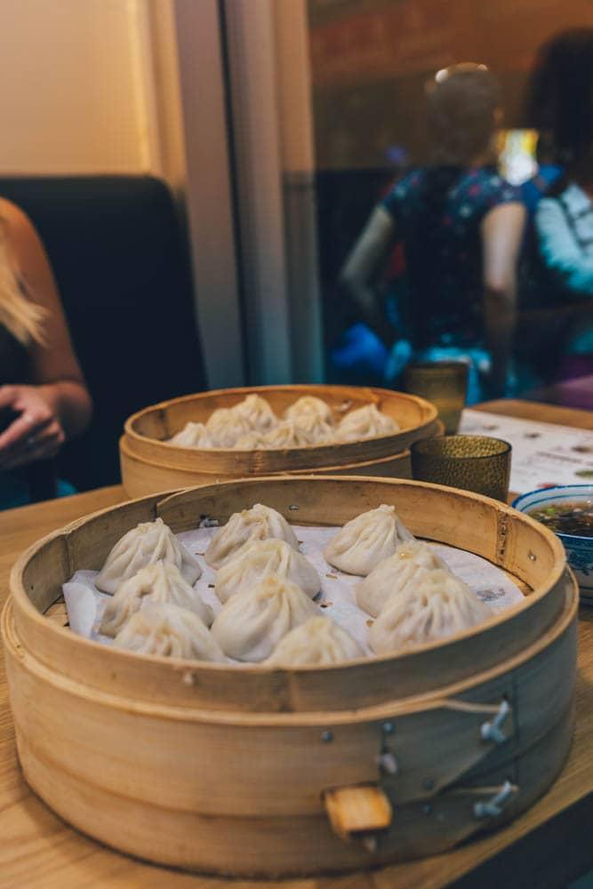Sammi & Soup Dumplings, Chinatown, Montreal, Qubec, Canada