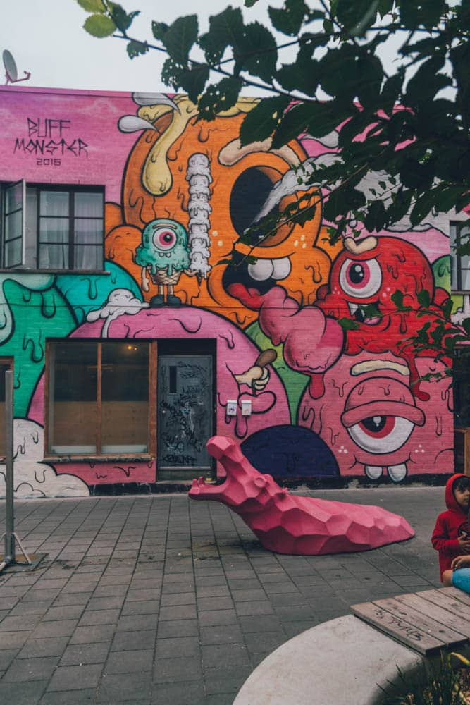 Wall Murals along St. Laurent, Montreal, Canada