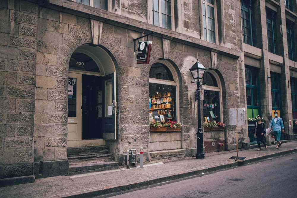 Librairie Bertrand, Montreal, Quebec, Canada