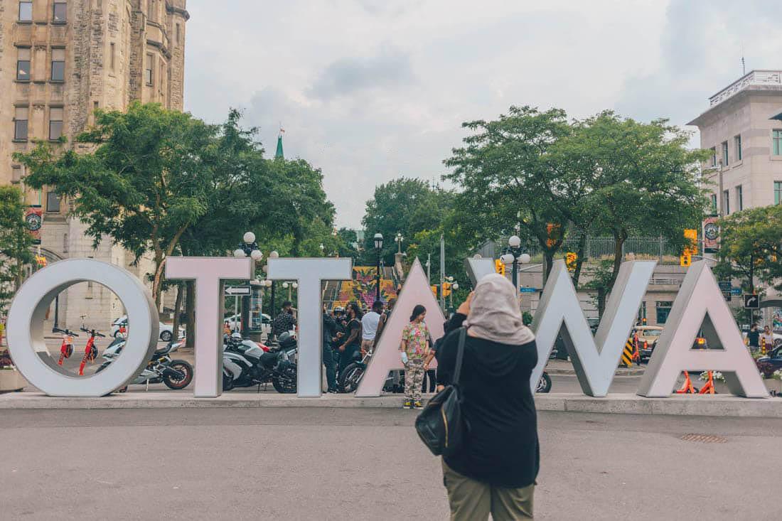 Ottawa Sign, ByWard Market, Ottawa, Canada