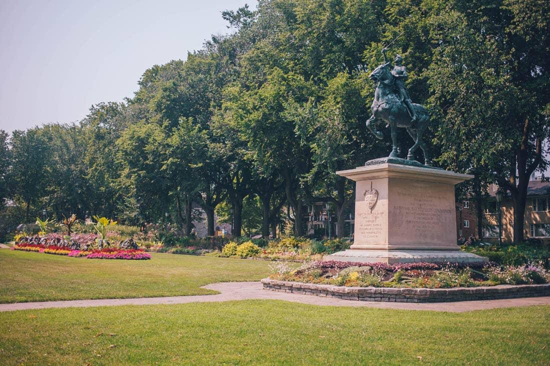 Joan of Arc Garden, Plaines d'Abraham, Quebec City, Canada