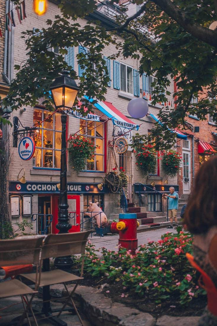 Le Lapin Saute, Rue Petit Champlain, Quebec City, Canada