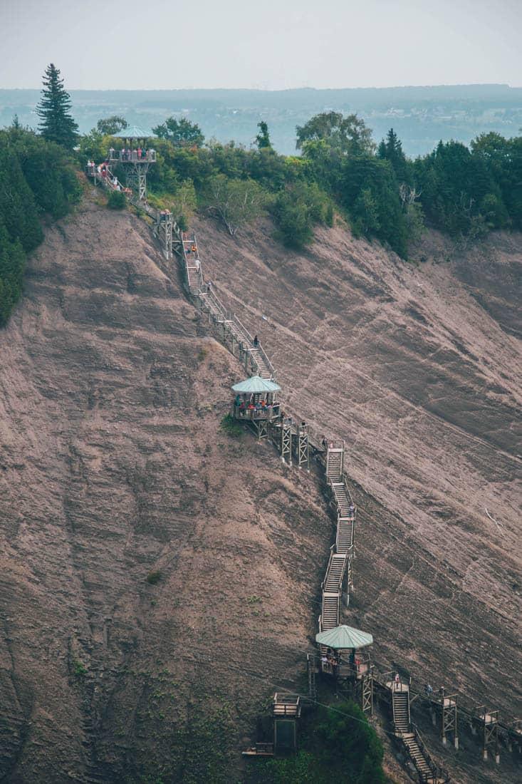 Montmorency Falls, Quebec City, Canada
