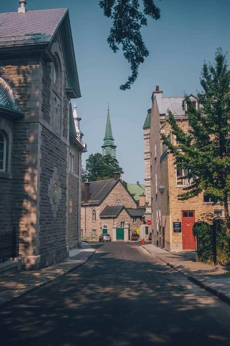 Rue Saint-Louis, Old Quebec, Quebec City, Canada