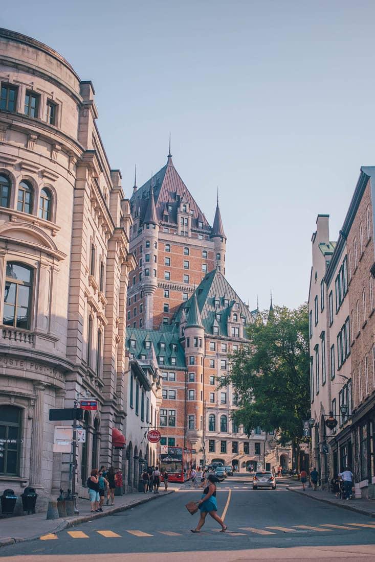 Rue de Buade and Rue Port Dauphin/Fort St, Quebec City, Canada