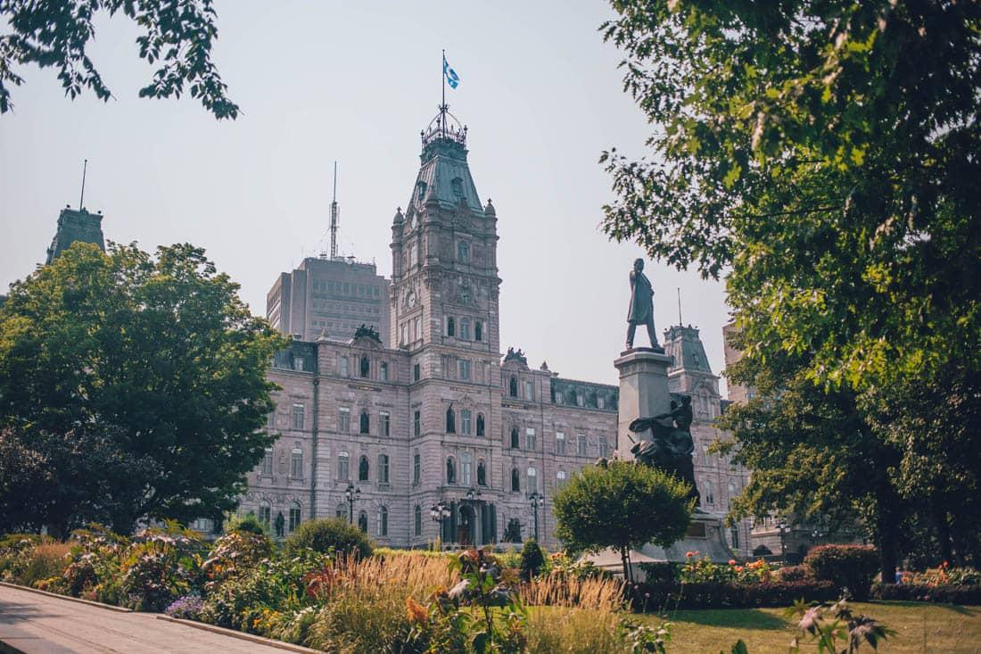 Parliament Building, Quebec City, Canada