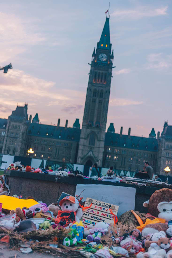Every Child Matters, Parliament Hill, Ottawa, Canada