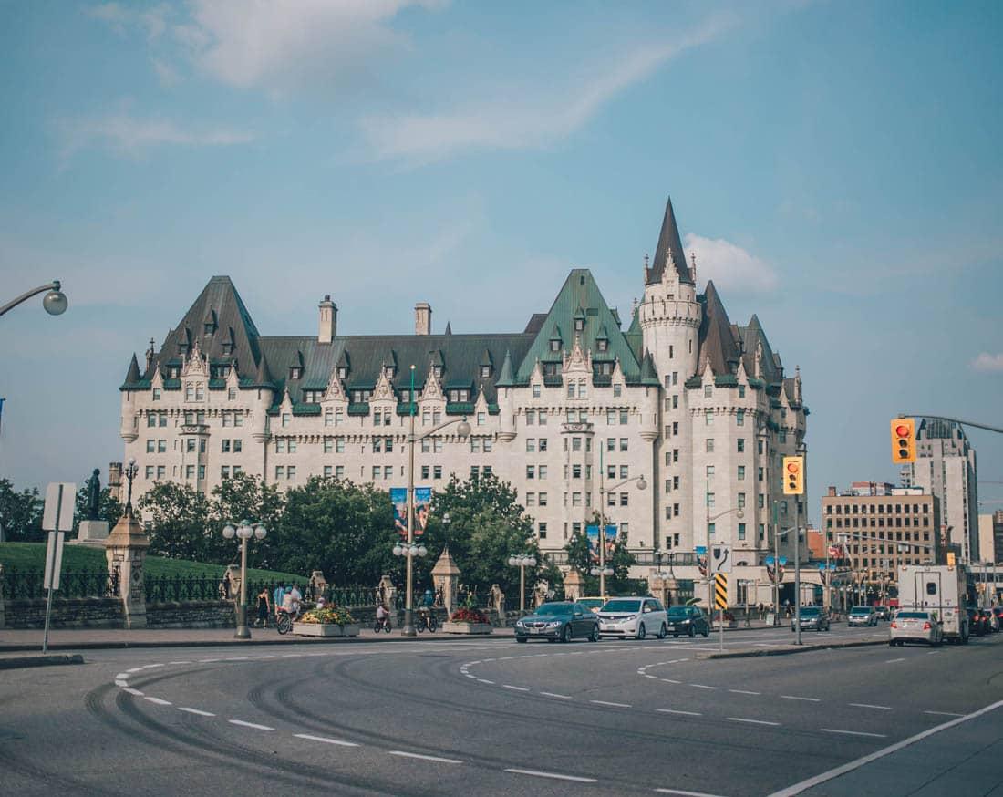 Chateau Laurier, Parliament Hill, Ottawa, Canada