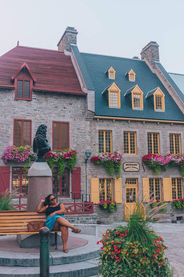 Place Royale, Quebec City, Canada