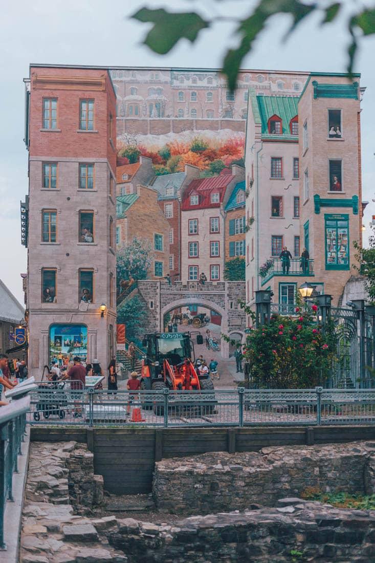 Quebec City Mural, Canada