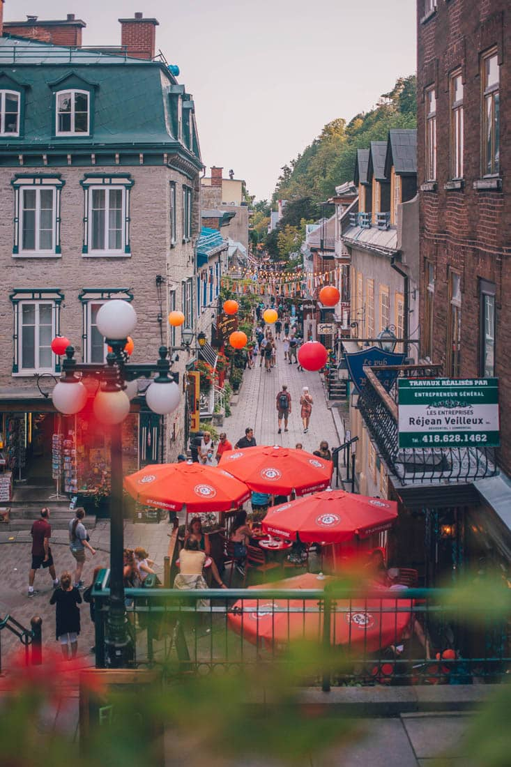Escalier Casse-Cou, Old Quebec, Quebec City, Canada