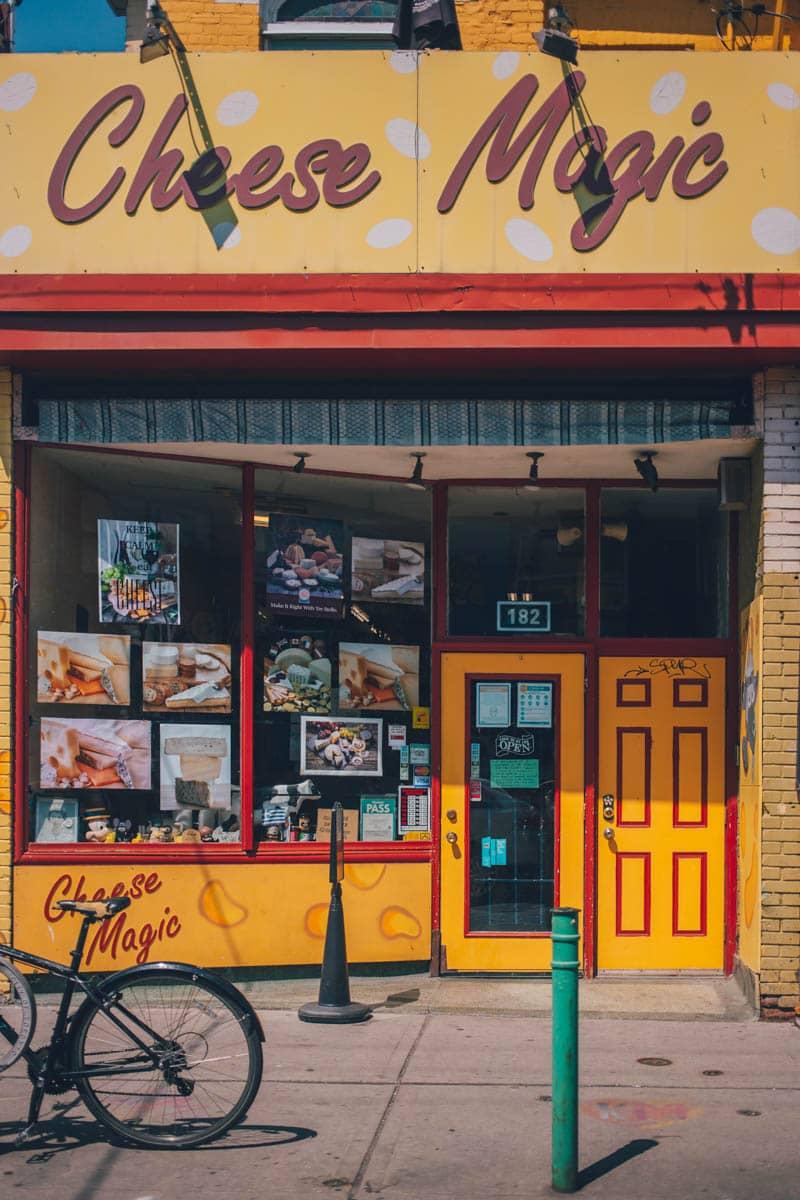 Cheese Magic, Kensington Market, Toronto, Ontario, Canada