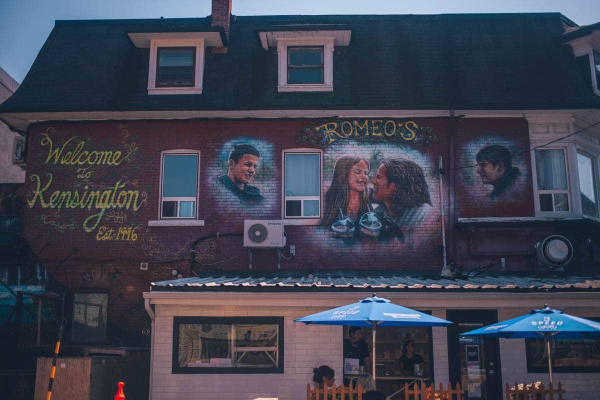 Wall Art, Kensington Market, Toronto, Ontario, Canada