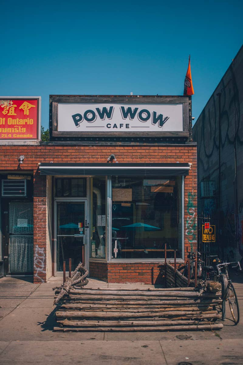 PowWow Cafe, Kensington Market, Toronto, Ontario, Canada
