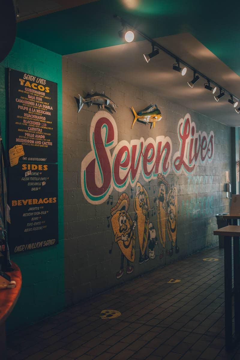 Seven Lives Taco, Kensington Market, Toronto, Ontario, Canada